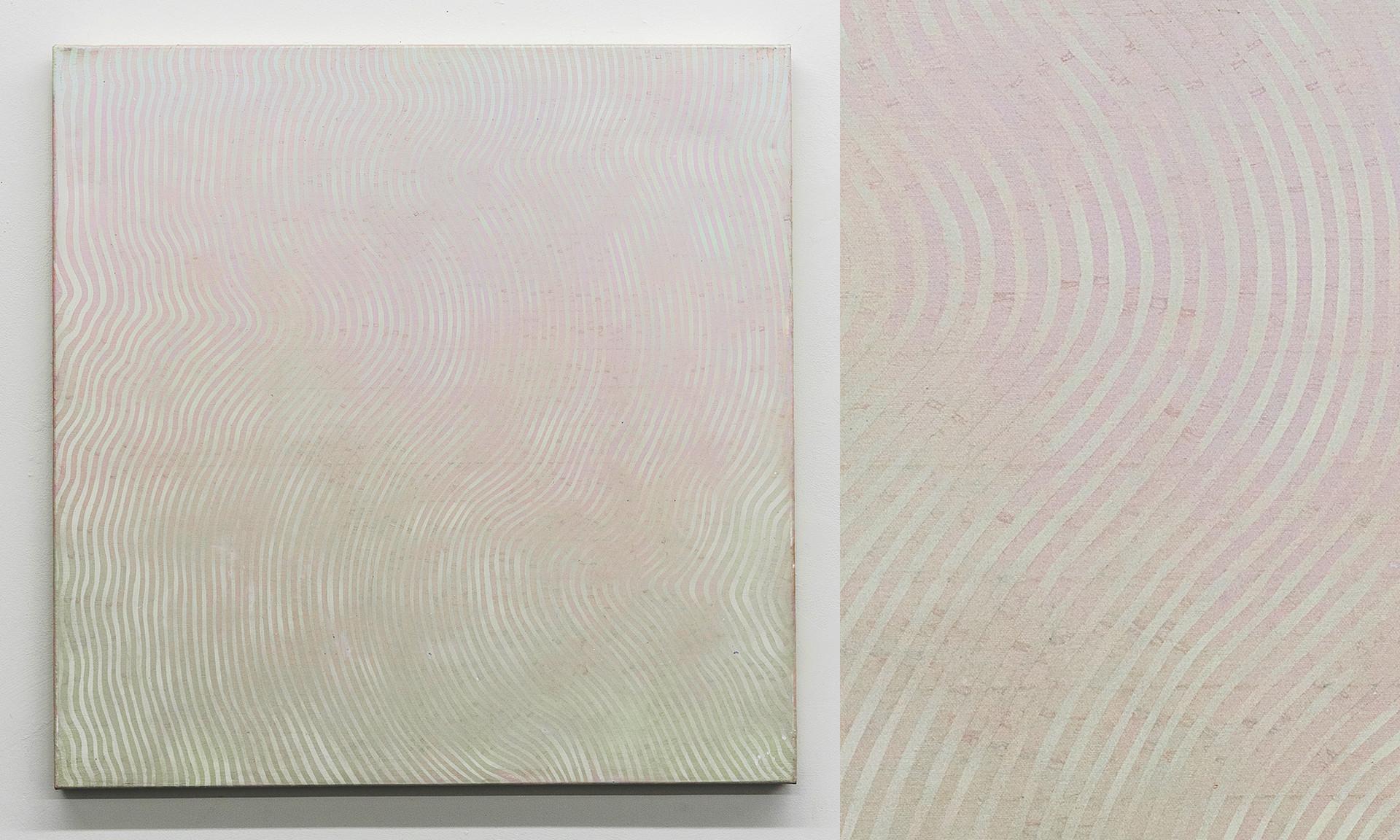 """Wave III, 2016, acrylic on canvas, 36""""x36"""""""