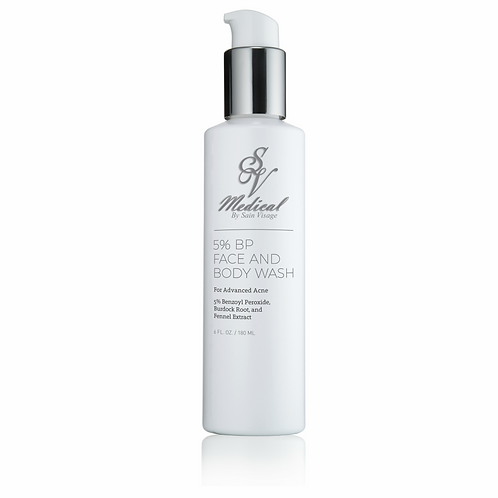 SVM 5% B.P. Face & Body Wash
