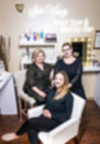 Sain Visage Partners Maryellen Scandone and Kerry Spindler