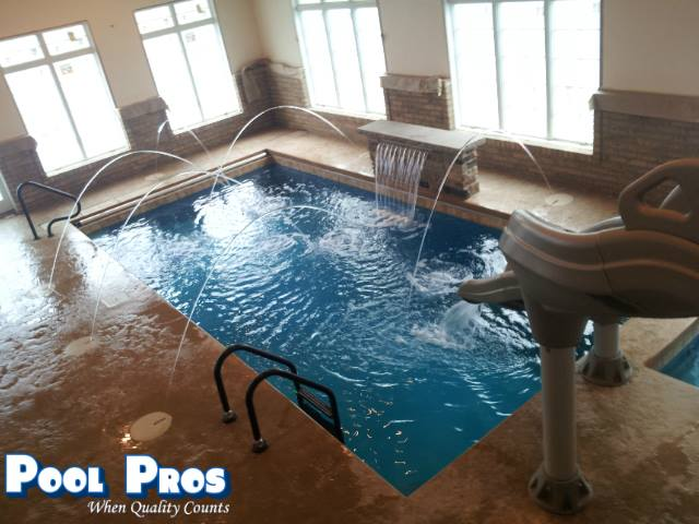 APSP Gold Award for residential interior pool and spa in Suamico, WI