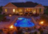 San Juan Pleasure Island Fiberglass Pool