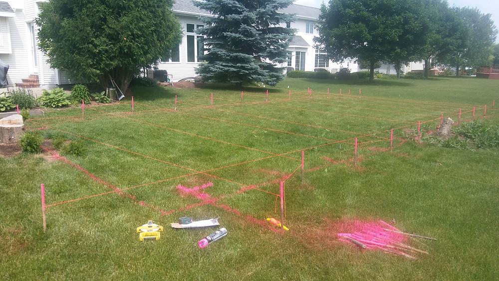 Site Prep for fiberglass pool dig