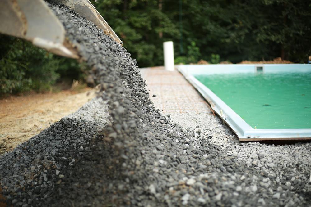 Installation of Fiberglass Pools
