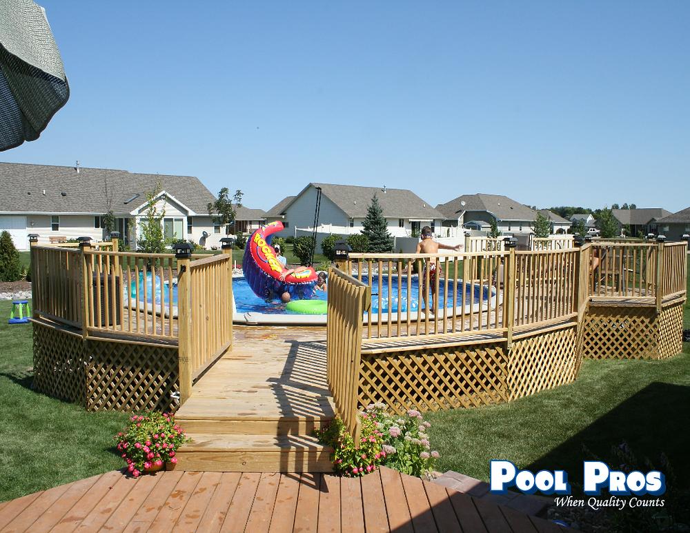 Pool Deck in De Pere WI