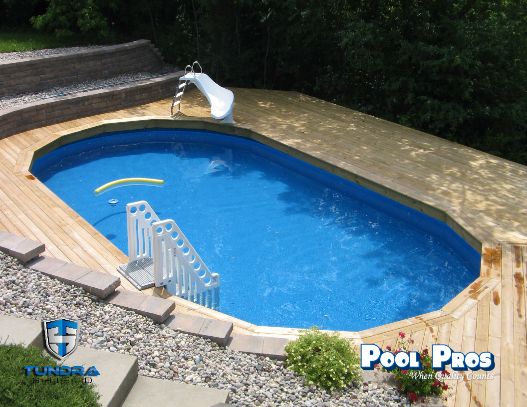 16 x 33 Evolution Above Ground Pool in Ledgeview WI