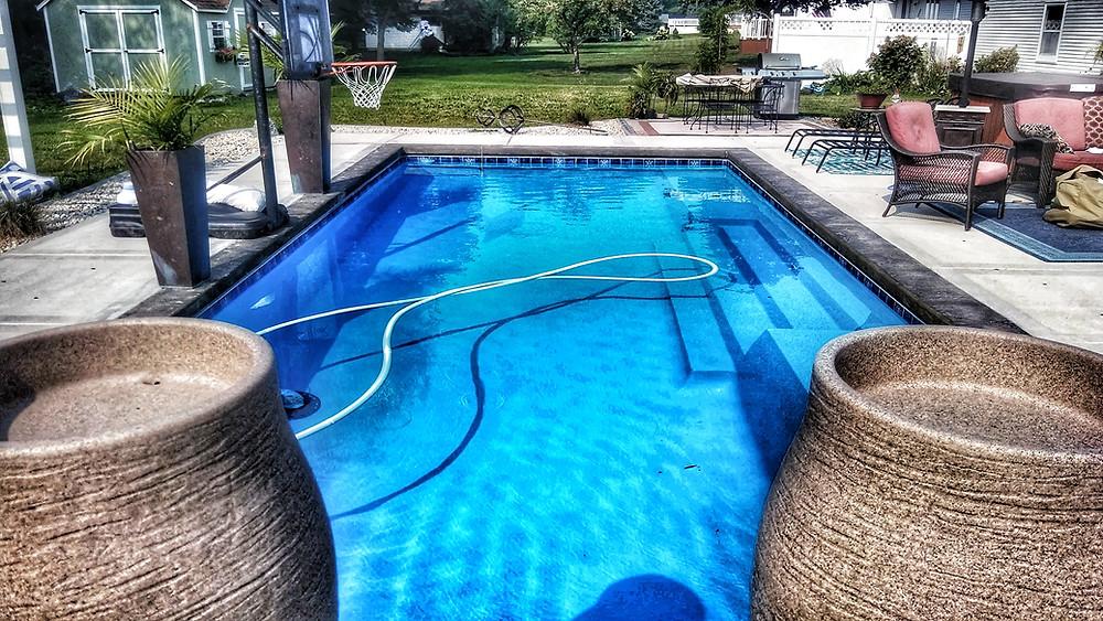 San Juan Grand Manhattan Fiberglass Pool
