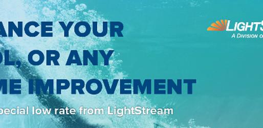 Financing your Fiberglass Pool Project