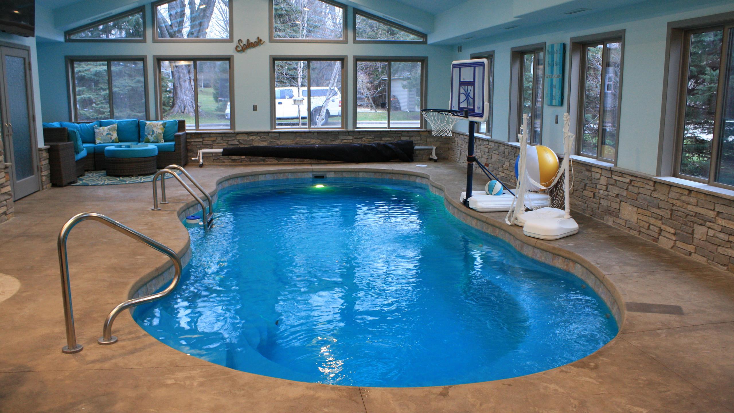 APSP Gold Award for Residential Interior Pool in Green Lake, WI