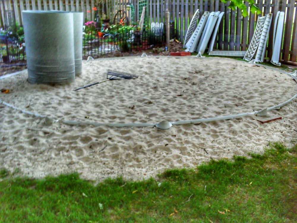 Improper Above Ground Pool Installation