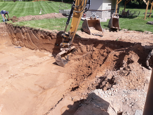 Important things to consider when building a fiberglass pool in Howard and Suamico WI.