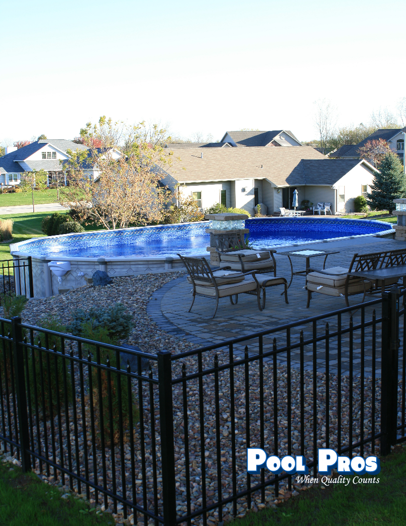 15 x 30 Oval Trevi Above Ground Pool in Howard WI 2