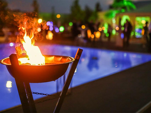 Fire Features - Fire up your pool area