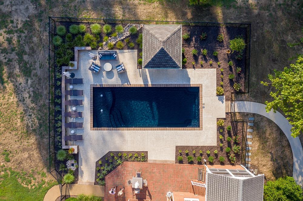The D36 Fiberglass Pool by RIver Pools