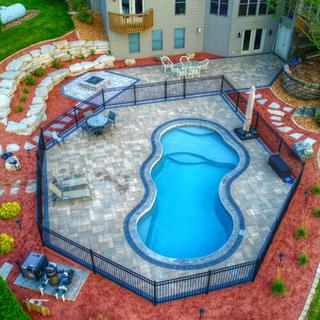 San Juan Costa Azul Fiberglass Pool in F