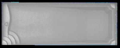 Colored Fiberglass Pool