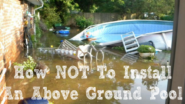 Top 5 Mistakes Installing An Above Ground Pool Pool Pros