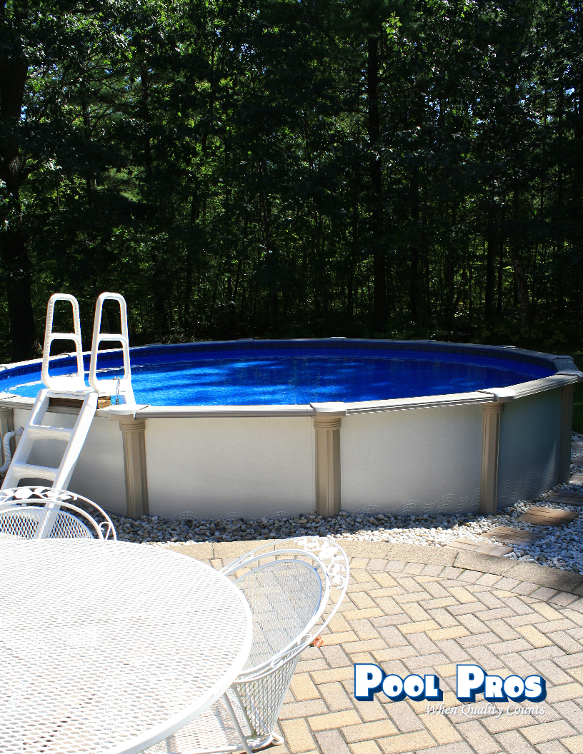 21' Paragon Above Ground Pool in Sobieski WI 2