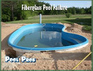 Leaking fiberglass pool in Shawano WI