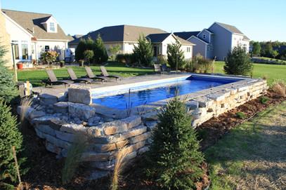 Fiberglass Pool in Ledgeview WI