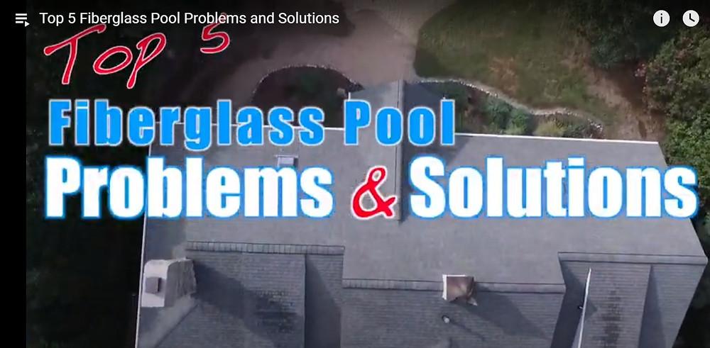 Fiberglass Pool Problems and Solutions