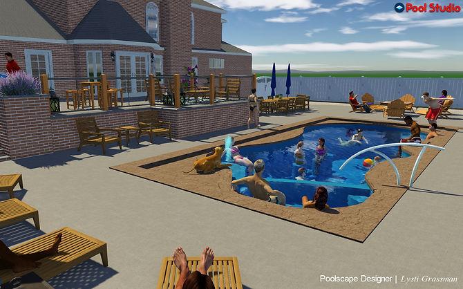3D Swiming Pool Design by Lysti Bowers