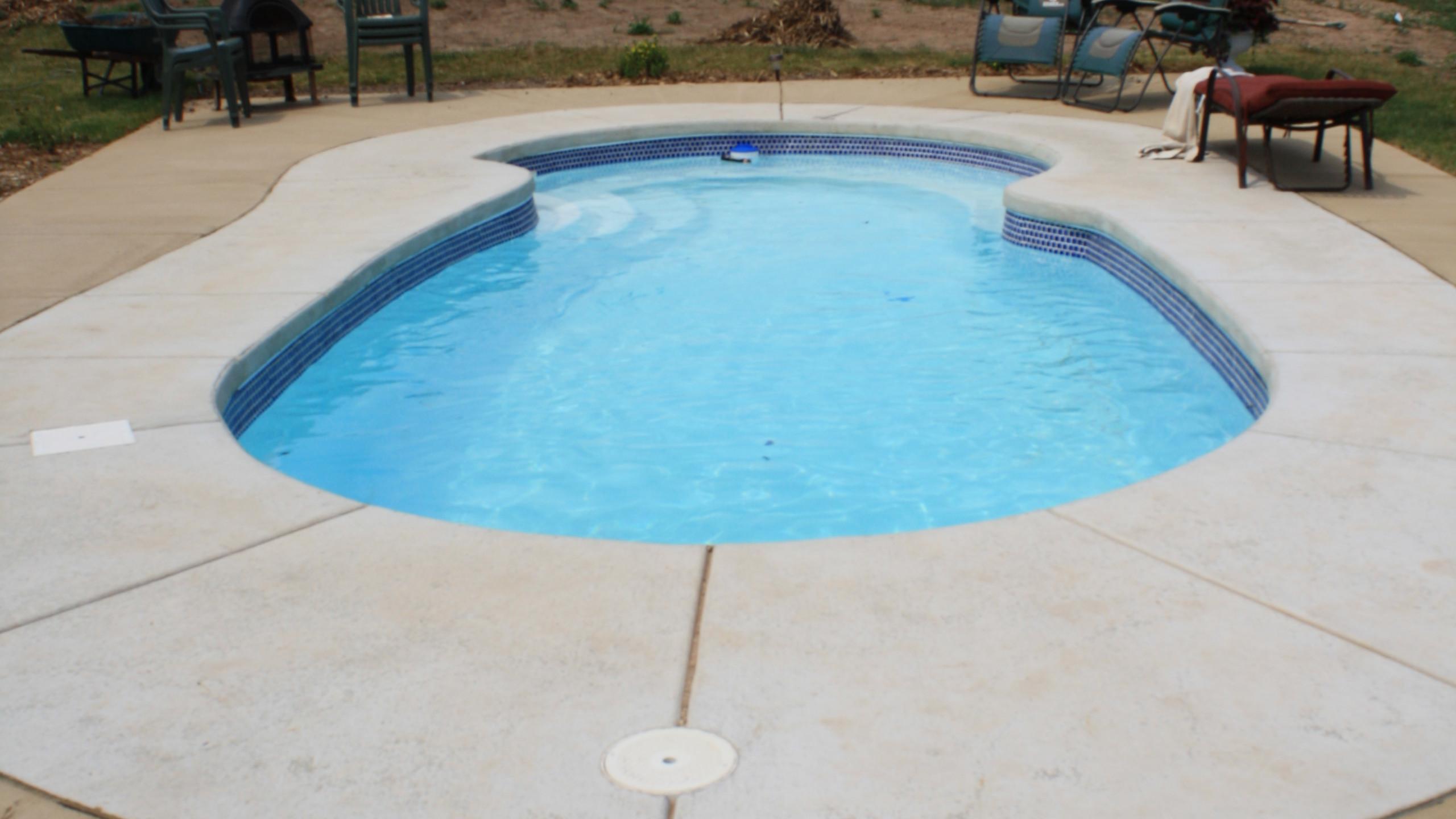 APSP Gold Award Residential Fiberglass Pool in Green Bay WI