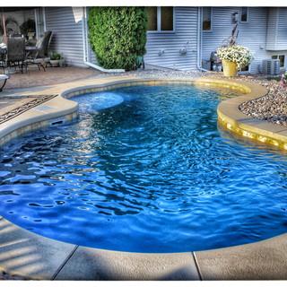 Trilogy Fiberglass Pool by Pool Pros in