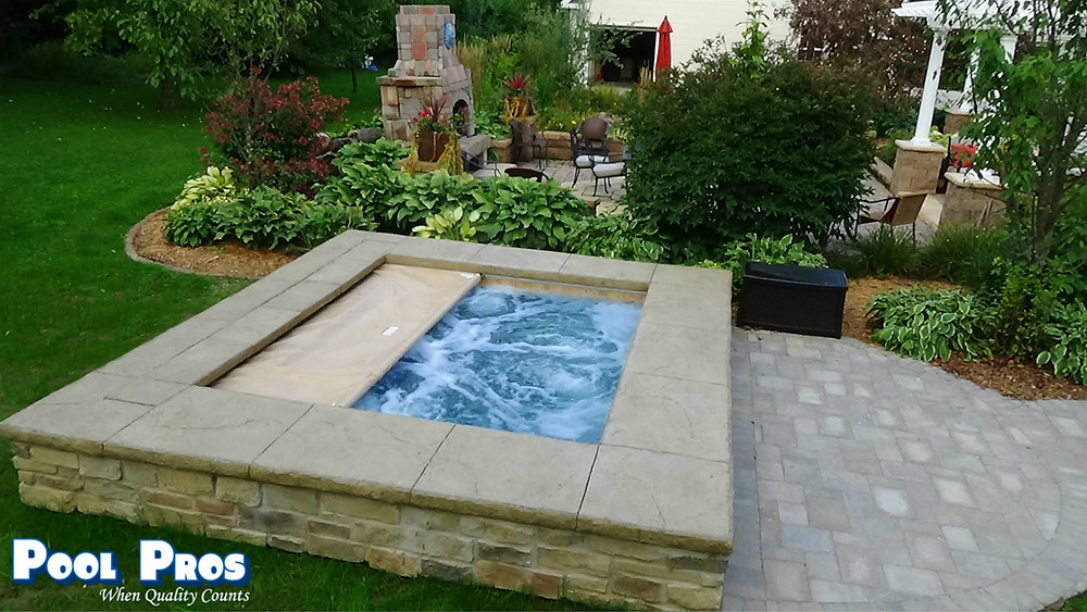 Custom Automatic Cover for Spa in Marshfield WI