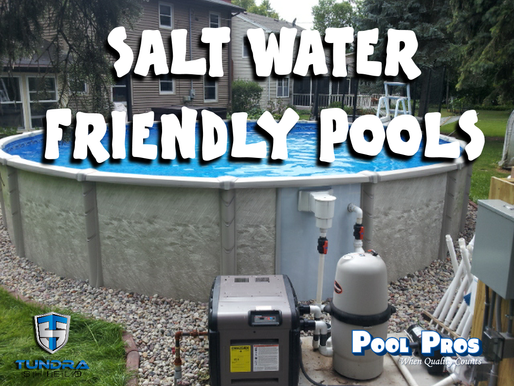 Salt Water Friendly Above Ground Pools