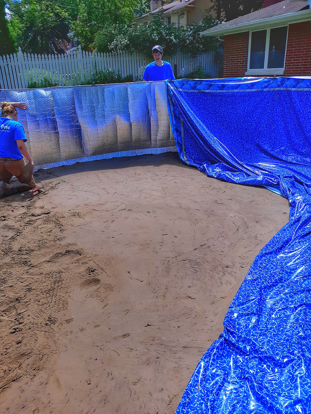 Tundra Shield Pool Insulation