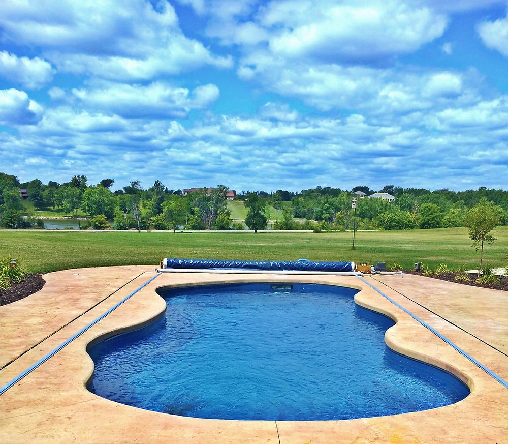 Latham Fiberglass Pool