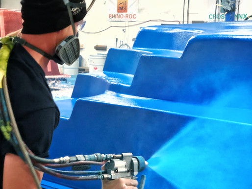 Fiberglass Pools, How They're Made Part 2: Gelcoat