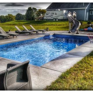 Ultimate Fiberglass Pool by Leisure Pool