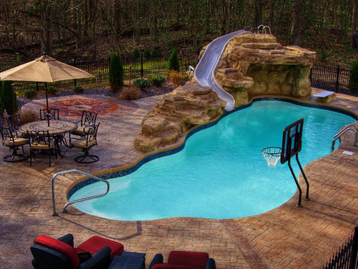 What do different pool patio types cost?
