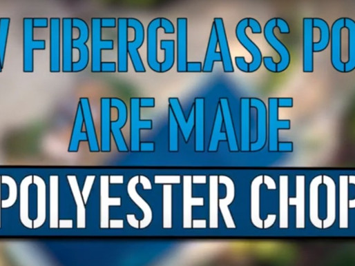 How Fiberglass Pools are Made Part 4 Polyester Chop