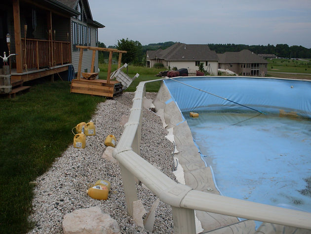 Can I Bury My Above Ground Pool Pool Pros In Ground Above