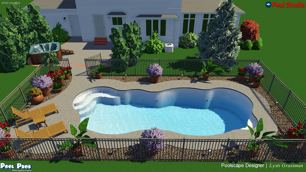 3D Pool Design by Lysti Bowers