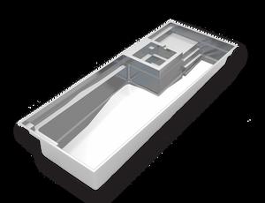 Imagine Pools Exquisite Model  Fiberglass Pool