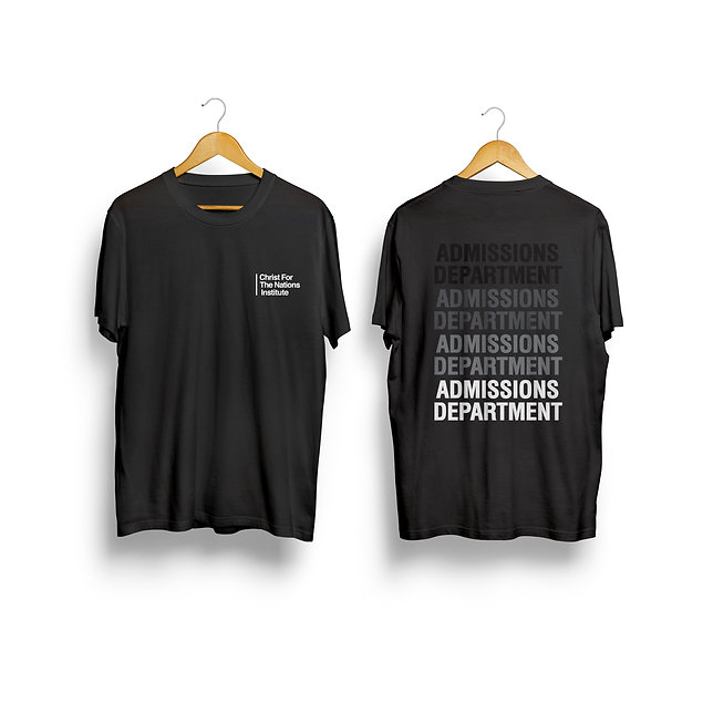 T-shirts Admissions Department.jpg