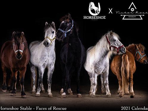 Horseshoe Stable x Victor Rose Photo 2021 Wall Calendar