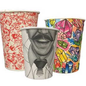 Single use paper cups: Recyclable vs non-recyclable plastic