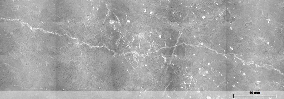 nickel sulphide deposit mosaic microXRF
