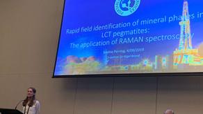 Applying portable RAMAN Spectroscopy to rapid in field identification