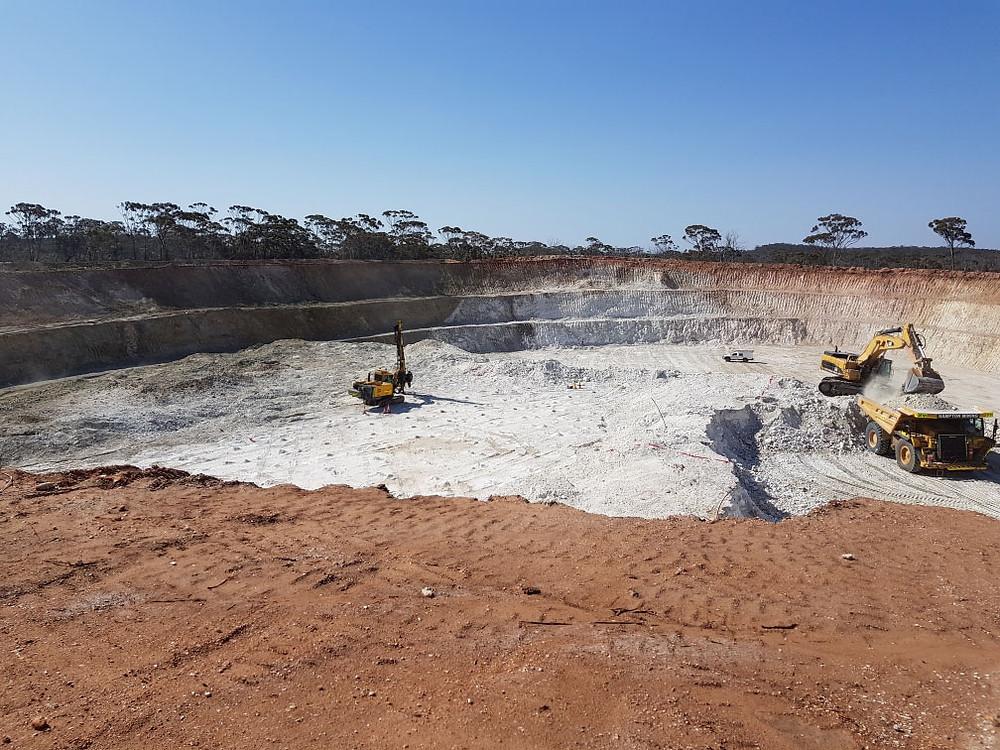 Pioneer Dome Sinclair Caesium Mine
