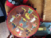 Old childrens drum that contains lead in the paint