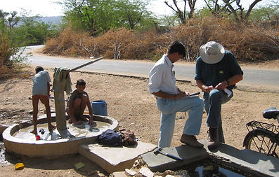 Orientation Studies, water sampling