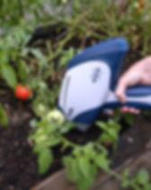 Bruket Titan XRF Soil Testing Vegetable Patch