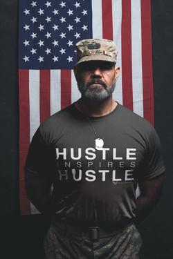 mockup hustle inspires hustle man