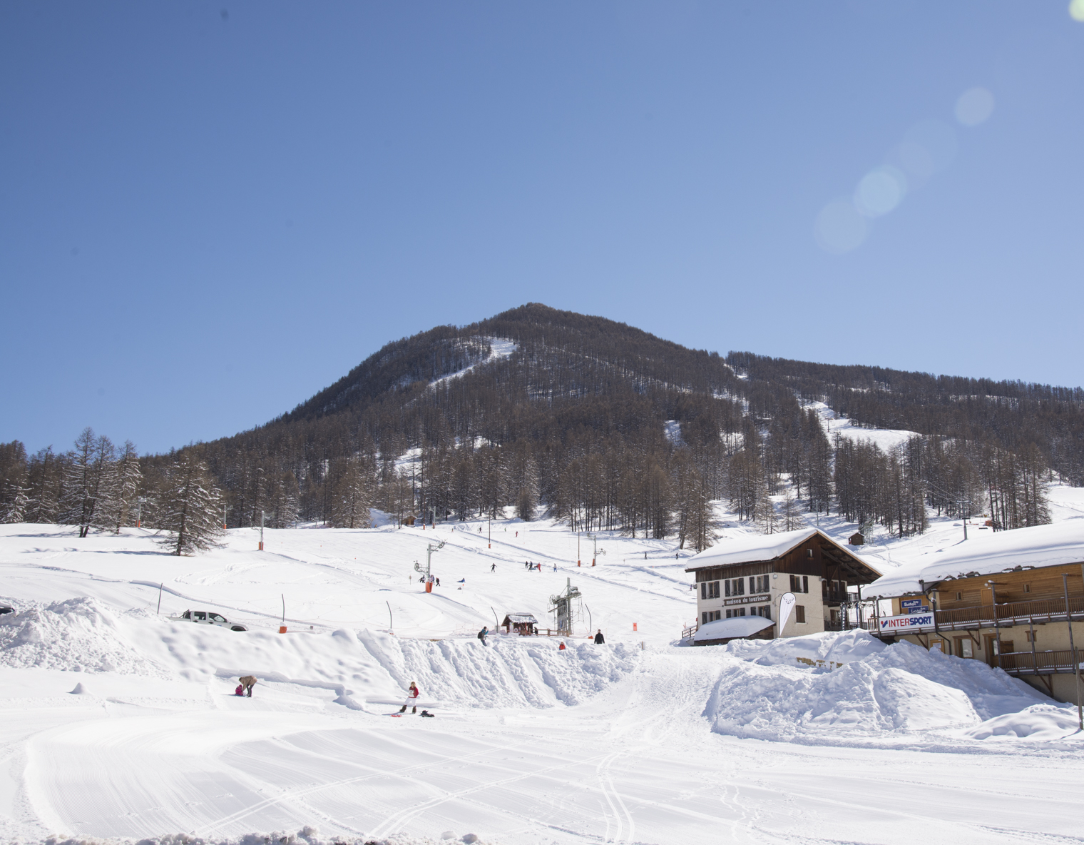 Pistes de ski de Molines-en-Queyras