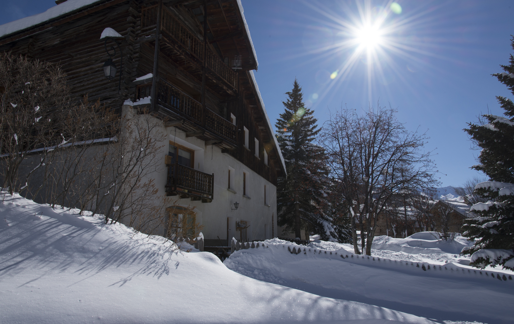 La Pouite, Molines-en-Queyras hiver